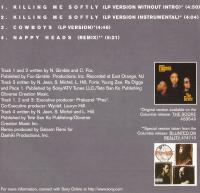 Fugees - 1996 - Killing Me Softly (Single) (Back Cover)