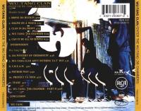 Wu-Tang Clan - 1993 - Enter The Wu-Tang (36 Chambers) (Back Cover)