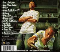 9th Wonder & Buckshot - 2008 - The Formula (Back Cover)