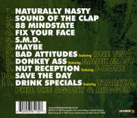 Apathy & Celph Titled - 2007 - No Place Like Chrome (Back Cover)
