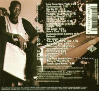 Keith Murray - 1994 - The Most Beautifullest Thing In This World (Back Cover)