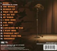 Boot Camp Clik - 2007 - Casualties Of War (Back Cover)