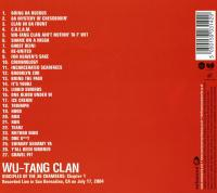 Wu-Tang Clan - 2004 - Disciples Of The 36 Chambers: Chapter 1 (Back Cover)