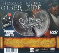 Ol' Dirty Bastard - 2009 - Message To The Other Side (Osirus Part 1) (Back Cover)