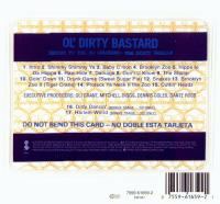 Ol' Dirty Bastard - 1995 - Return To The 36 Chambers (The Dirty Version) (Back Cover)