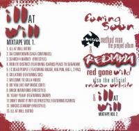 Redman - 2004 - Ill At Will Mixtape Vol. 1 (Back Cover)