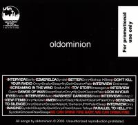 Oldominion - 2000 - One (Back Cover)