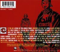 GZA - 1995 - Liquid Swords (Back Cover)