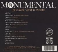 Pete Rock & Smif-N-Wessun - 2011 - Monumental (Back Cover)