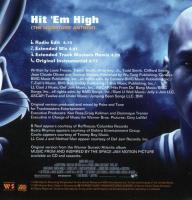 B-Real, Busta Rhymes, Coolio, LL Cool J & Method Man - 1996 - Hit 'Em High (The Monstars' Anthem) (Back Cover)