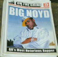 Big Noyd - 2005 - On The Grind (Front Cover)