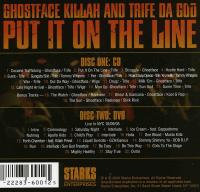 Ghostface Killah & Trife Da God - 2005 - Put It On The Line (Back Cover)