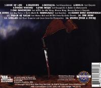 Killah Priest - 2010 - The 3 Day Theory (Back Cover)