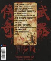Wu-Tang Clan - 2011 - Legendary Weapons (Back Cover)