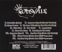 KRS-One & Showbiz - 2011 - Godsville (Back Cover)