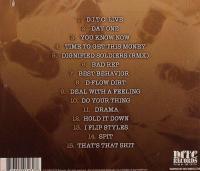 D.I.T.C. - 2007 - Rare & Unreleased (Back Cover)