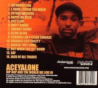 Aceyalone - 2002 - Hip Hop And The World We Live In (Back Cover)