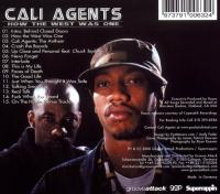 Cali Agents - 2000 - How The West Was One (Back Cover)