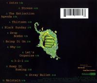 Organized Konfusion - 1994 - Stress: The Extinction Agenda (Back Cover)