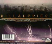 Killah Priest - 2001 - Priesthood (Back Cover)