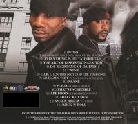 Heltah Skeltah - 2008 - D.I.R.T. (Da Incredible Rap Team) (Back Cover)