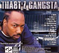 Tha8t'z Gangsta