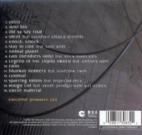 GZA - 2002 - Legend Of The Liquid Sword (Back Cover)