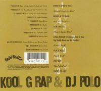 Kool G Rap & DJ Polo - 1990 - Wanted: Dead Or Alive (Back Cover)