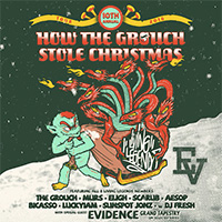 Реюньон Living Legends для тура «How The Grouch Stole Christmas»