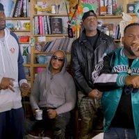 Выступление Wu-Tang Clan в очередной серии Tiny Desk от NPR