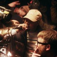 Danny Brown и Run The Jewels читают рэп на Бруклинском складе